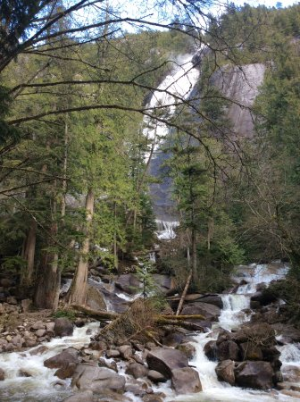Squamish, Canadá: Shannon Falls
