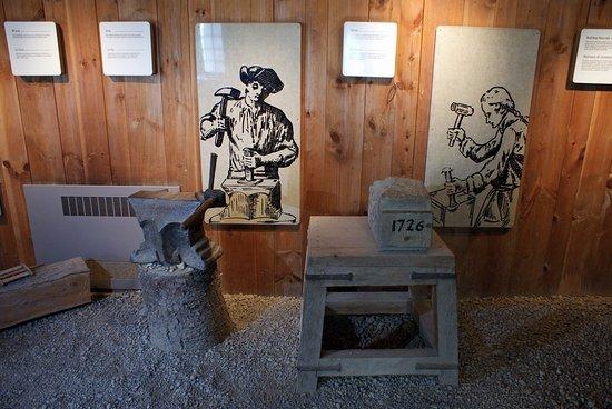 Louisbourg, Kanada: one of the historical displays