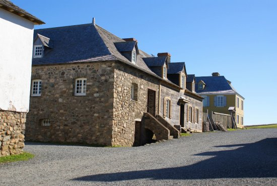 Louisbourg, Kanada: buidings of the town