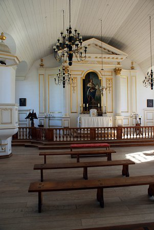 Louisbourg, Kanada: the chapel