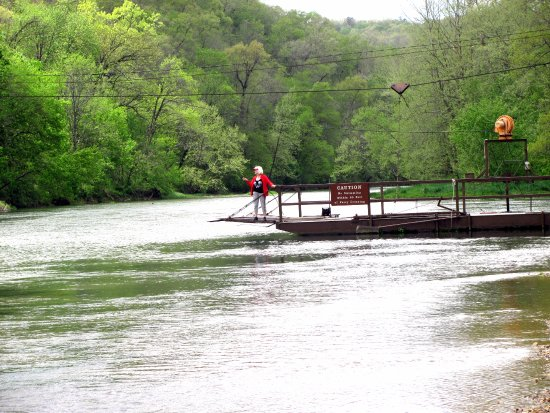Alton, MO: Akers Ferry (2) on Current River..      By Carl H. =)~