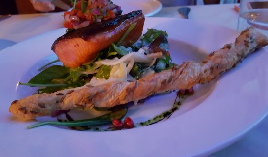 Roaring Megs Restaurant : Home smoked Salmon
