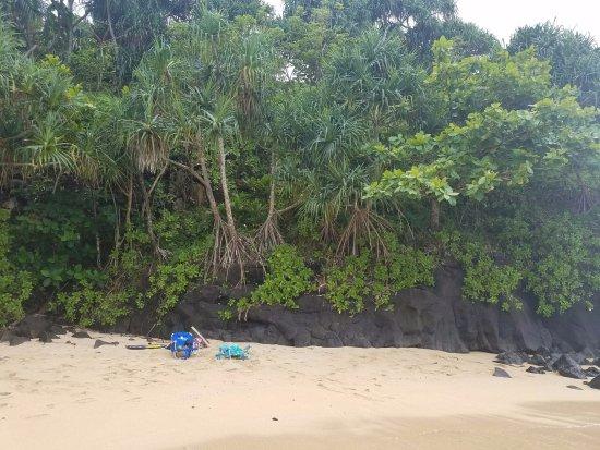 Pali Ke Kua Beach (Hideaway s Beach): very secluded