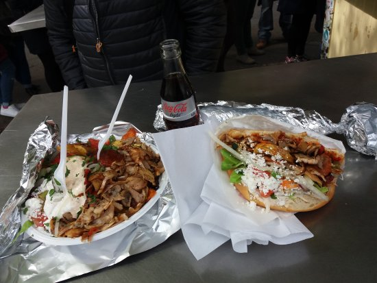 Photo of Fast Food Restaurant Mustafa's Gemuese Kebab at Mehringdamm 32, Berlin 10961, Germany