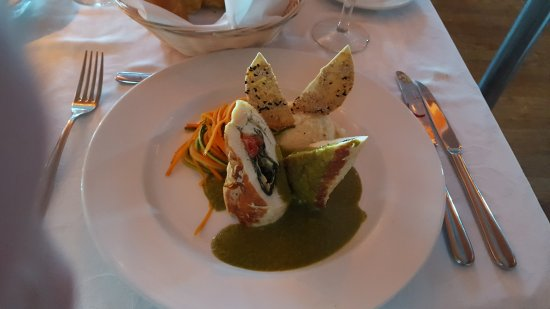 CaboRey Luxury Dinner Cruise: Stuffed Chicken Breast