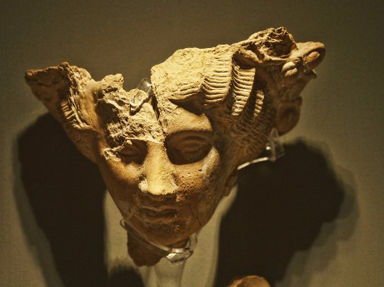 Cyprus Museum: petite tête sculptée