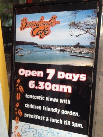 Ulladulla, Australia: Street board