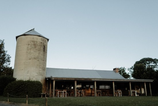 Formerly home to the grains 80 years ago : Silos Restaurant is an icon in Berry, NSW