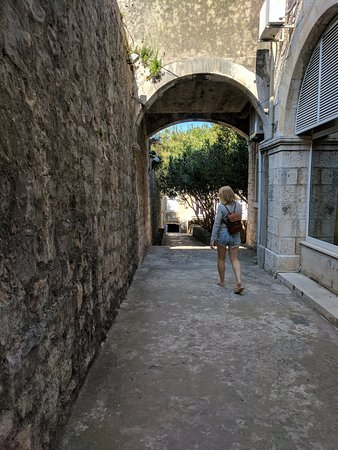Korcula Island, Croatia: Walking around the old city