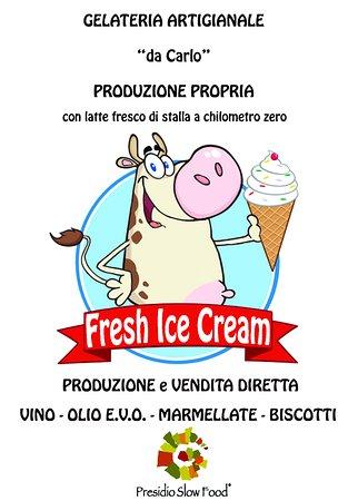 Roccalbegna, Italia: Gelateria Artigianale Produzione Propria