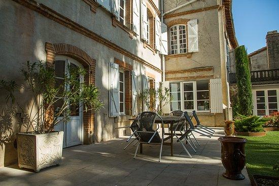 Lavaur, Francia: Jardin