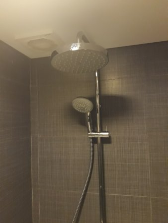 Midas Hotel And Casino: Two Shower Heads