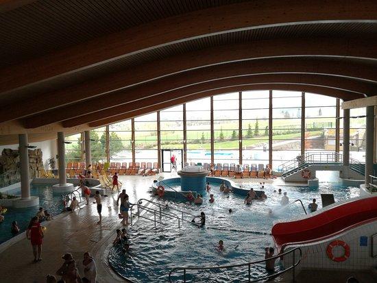 Bialka Tatrzanska, Polonia: Widok z antresoli, gdzie znajduje się wodny plac zabaw.