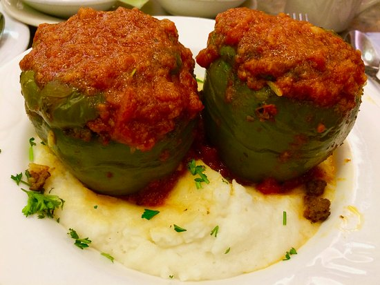 Wayne, PA: Stuff Peppers & Mash Potato