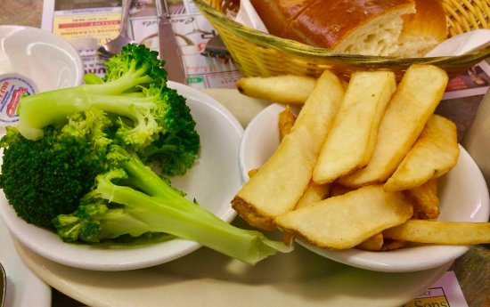 Wayne, PA: French Fries & Broccoli