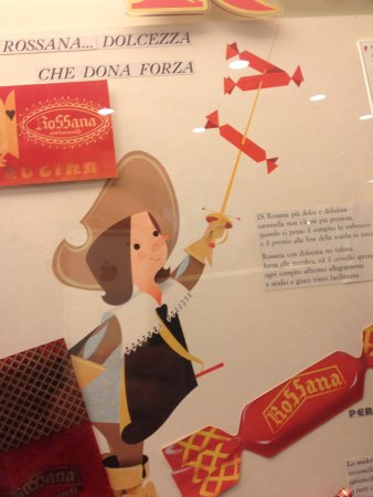 Chocolaterie Perugina : CARAMELLE ROSSANA