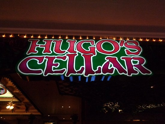 Hugo's Cellar: sign - enter here