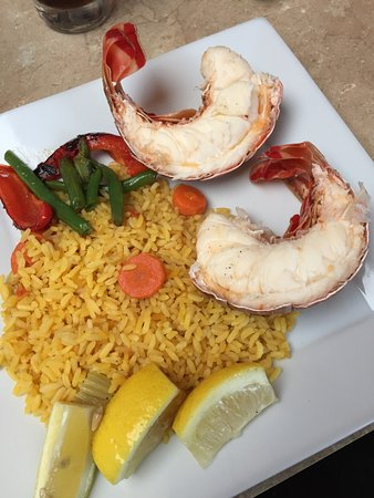 Terrace, Canada: Lobster Tail Dinner