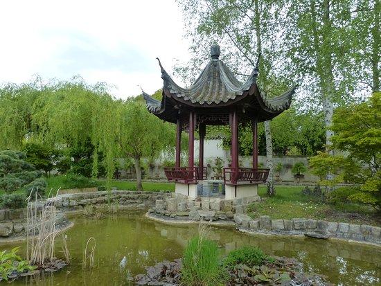 Jardin chinois de yili rambouillet frankrike omd men for Jardin chinois
