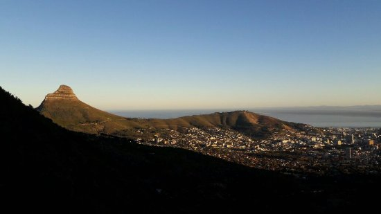 Table Mountain Walks: The early morning start...