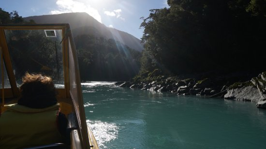 Haast, New Zealand: Waiatoto River