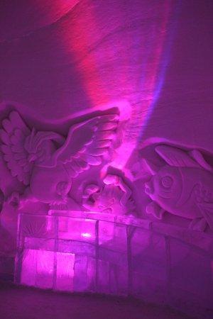 Luvattumaa - Levi Ice Gallery: Levi Ice Gallery, pokemon room