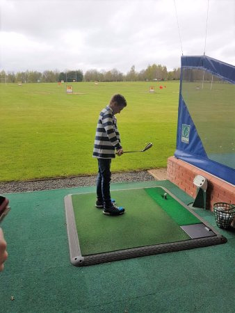Bromsgrove, UK: Practise golf for youngsters and other ages