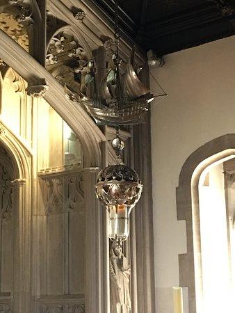 Gloucester, UK: Inside the chapel.