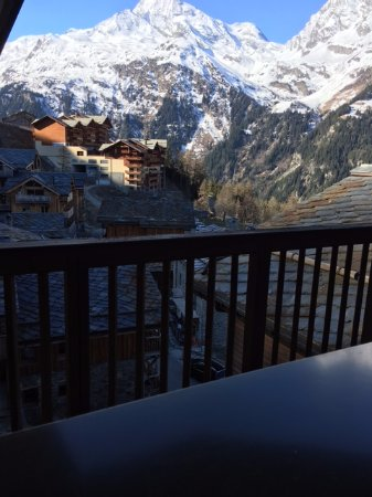 Sainte-Foy-Tarentaise, France: View from bedroom