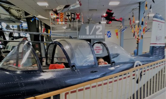 National Museum of Naval Aviation : Up, Up and away