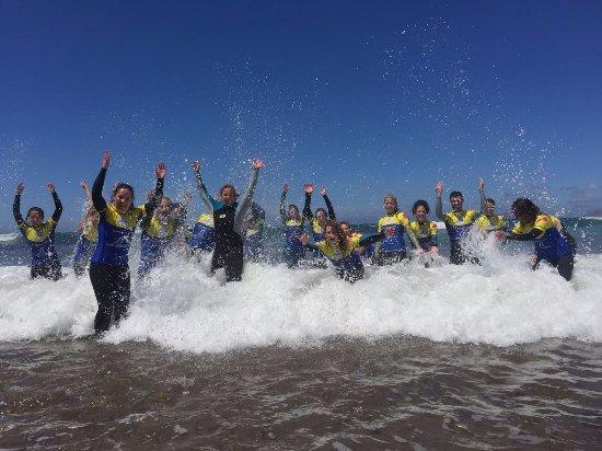 Caleta de Famara, Spanien: Ocean fun!