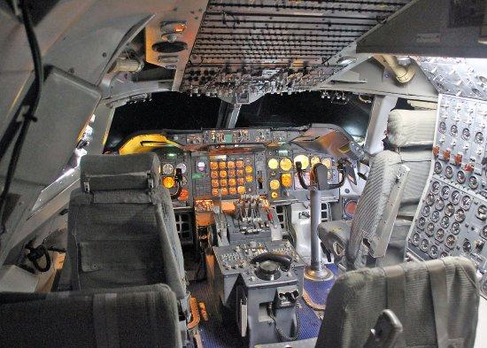 Le Bourget, Francia: Poste pilotage 747