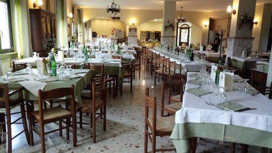Bassiano, Italien: Ristorante Belvedere