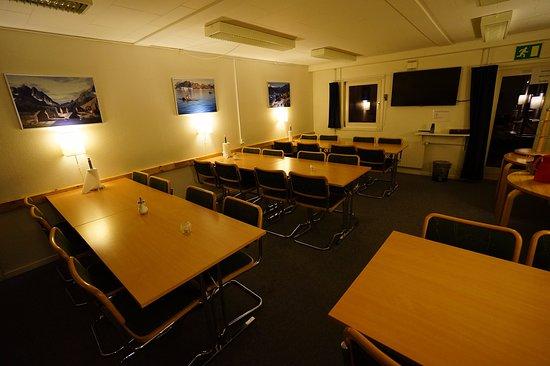 Kangerlussuaq, Groenlandia: 飯店的餐廳