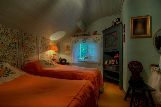 Ala di Stura, Italy: Room of the woods