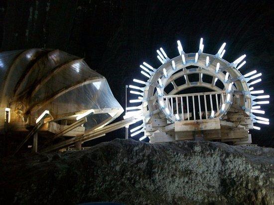 Turda, Rumania: ruota panoramica