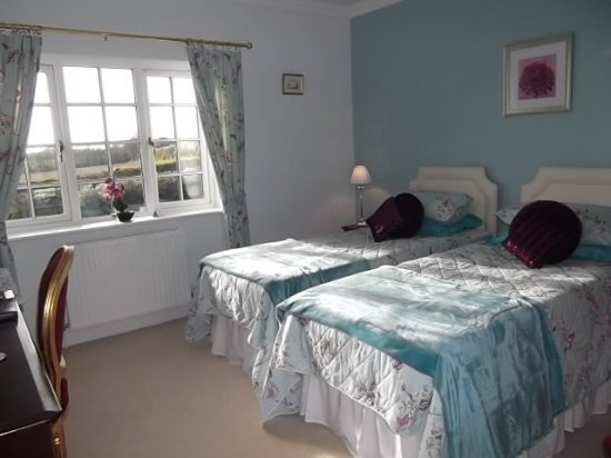St Minver, UK: Room Two. Twin Room.
