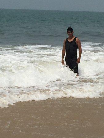 Utorda Beach: ME AT UTRODA BEACH