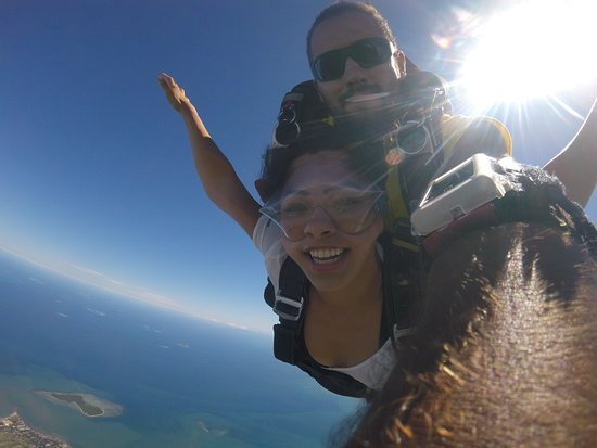 Skydive Fiji: when your nose is a good parachute