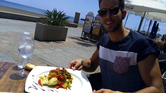 Gran Tarajal, İspanya: una excelente comida