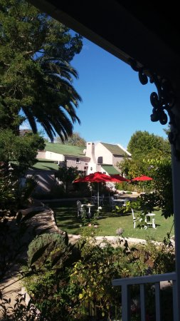 Greyton, Sudáfrica: Lovely garden in spite of dry season