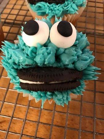 Ilminster, UK: Fun cupcakes!