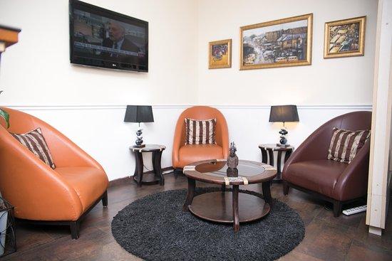 discussion area picture of gabfol lounge lagos tripadvisor rh tripadvisor com