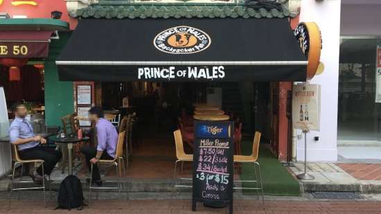 Prince of Wales Backpacker - Boat Quay