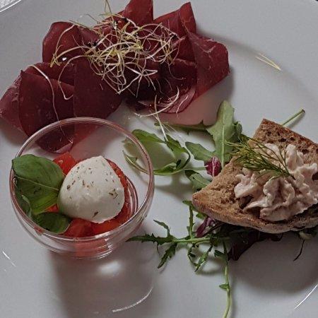 Provaglio d'Iseo, Italia: antipasti menu pasqua