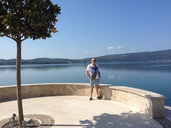 Tivat, Montenegro: along the harbour at Porto Montenegro