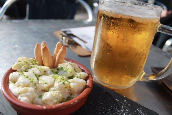 Unas Clásicas Ali Oli De Tapa Gratis Con Tu Cerveza En La