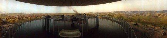 Borodino Battle Museum Panorama : Borodino battle panorama