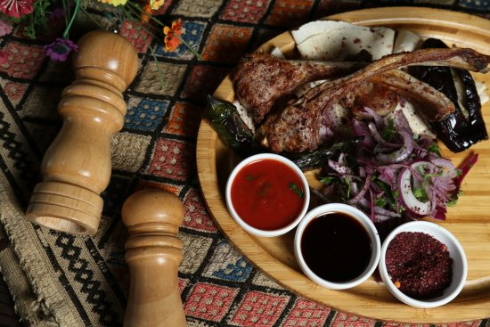 Azerbaijani cuisine lamb antricot kabab picture of cay for Azerbaijani cuisine