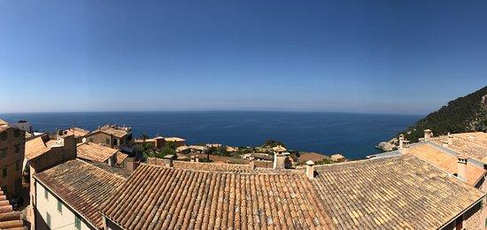 Banyalbufar, Spain: View from the restaurant